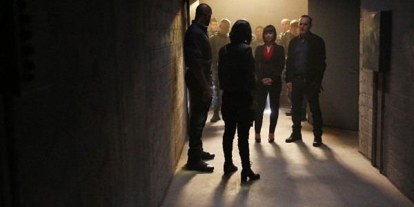 "MARVEL'S AGENTS OF S.H.I.E.L.D. - ""Devils You Know"" - Having reluctantly agreed to share information with Rosalind and the ATCU, Coulson and the team go in search for the Inhuman who is killing off other Inhumans, and May feels that Hunter's mission to take down Ward is getting too personal, on ""Marvel's Agents of S.H.I.E.L.D.,"" TUESDAY, OCTOBER 20 (9:00-10:00 p.m., ET) on the ABC Television Network. (ABC/Justin Lubin) HENRY SIMMONS, CHLOE BENNET, CONSTANCE ZIMMER, CLARK GREGG"