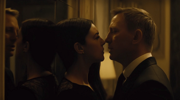 spectre - bond and bellucci