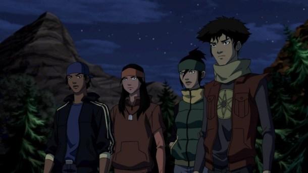Tye Longshadow, Asami Koizumi, Virgil Hawkins, Ed Dorado - Young Justice