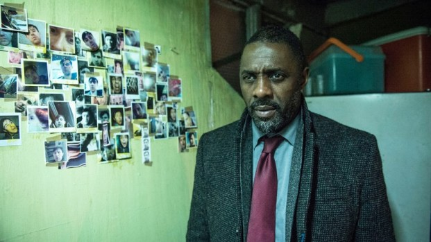 Detective John Luther (Idris Elba) is investigating one of the most monstrous, gruesome suspects he's ever come across. Luther, season four. Photo by BBC America.
