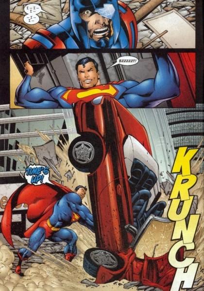 Superman Seemingly Kills with a Car