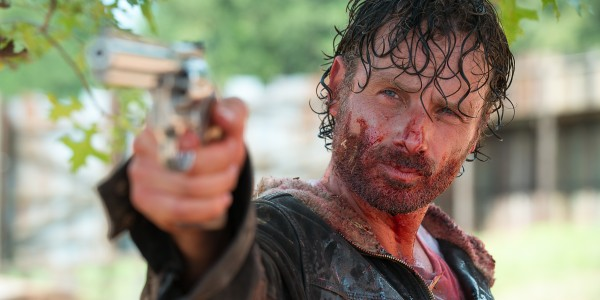 Andrew Lincoln as Rick Grimes - The Walking Dead _ Season 6, Episode 11 - Photo Credit: Gene Page/AMC