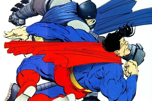 The Dark Knight Returns Superman Batman rivalries