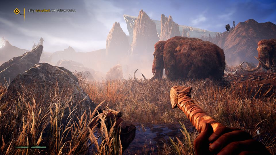 Mammoths Far Cry Primal ps4