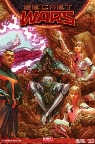 Secret Wars 4 heroes versus