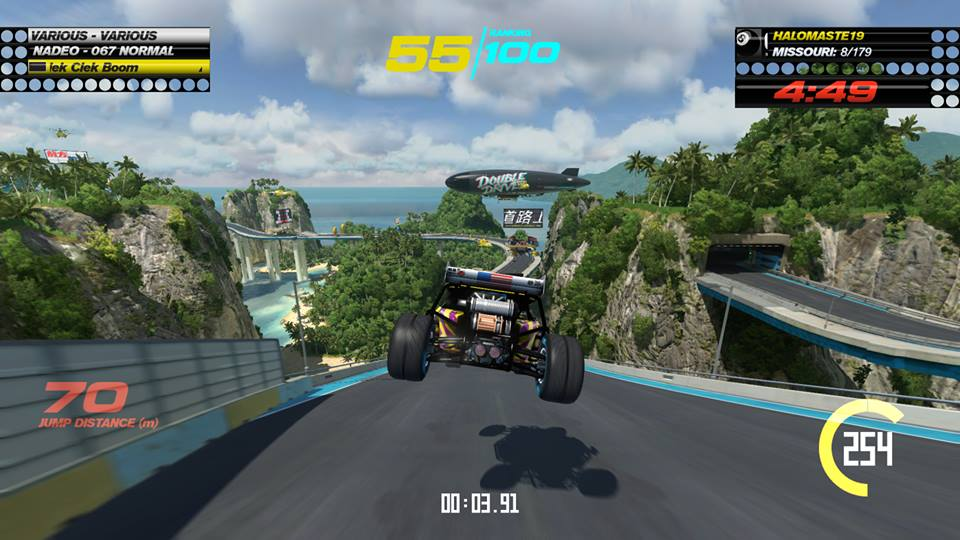 Trackmania jump buggy