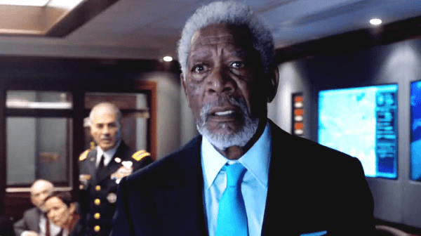 london has fallen - morgan freeman