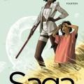 Saga #14 cover creative teams