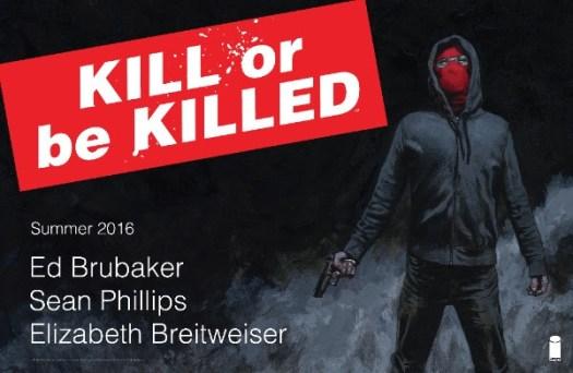 Kill Or Be Killed - Image Comics new titles