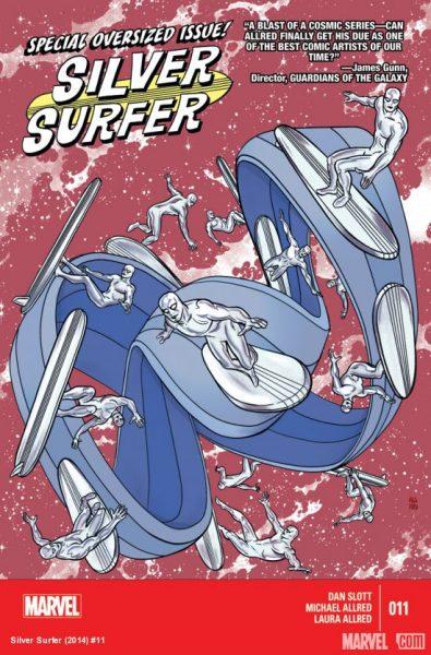 Silver Surfer 11 cover Eisner Awards