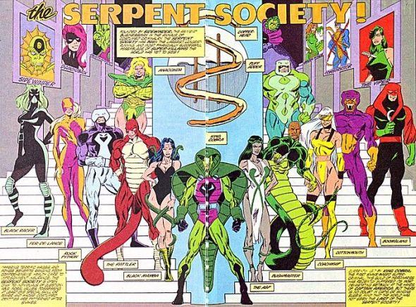 Serpent Society - Captain America villains