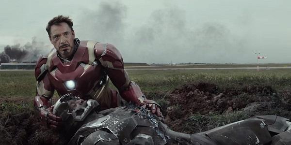 captain america - upset iron man
