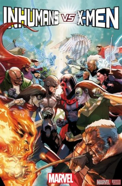 Inhumans vs X-Men #1 - mutants