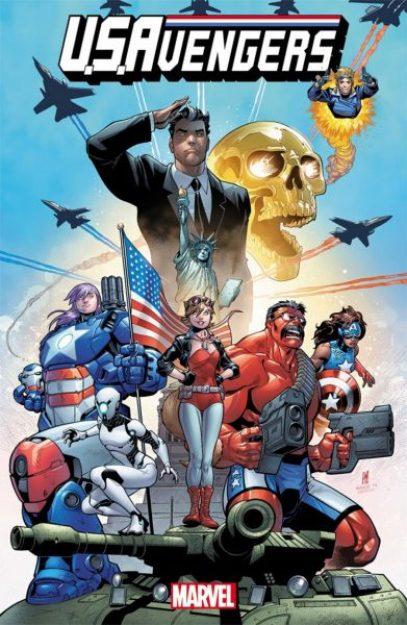 U.S. Avengers cover