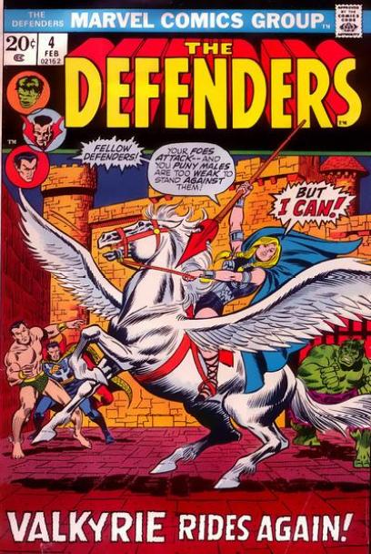 Valkyrie - 10 Marvel Heroes The Defenders