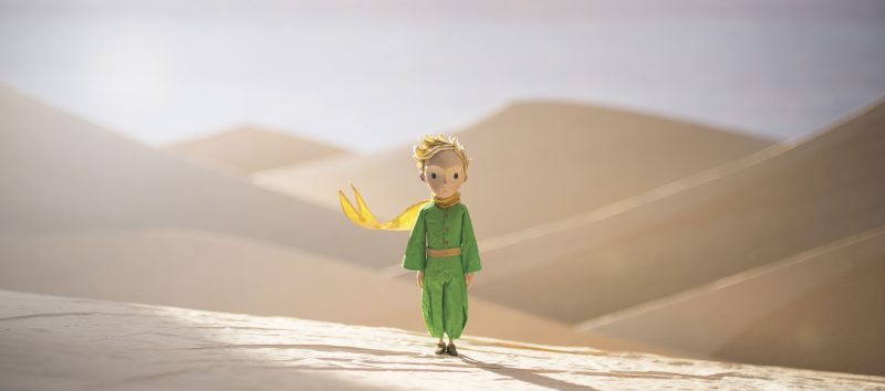 Riley Osborne voices The Little Prince in the stop-motion animated film THE LITTLE PRINCE by On Animation Studios