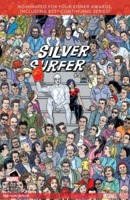 Jim's Pick Best Couple Silver Surfer and Dawn Greenwood