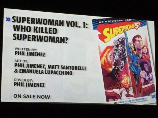 WonderCon DC Rebirth - Superwoman