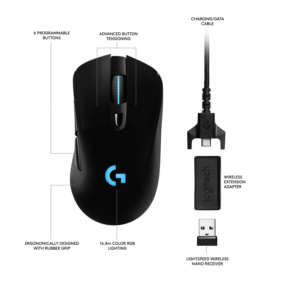 Image result for logitech g703