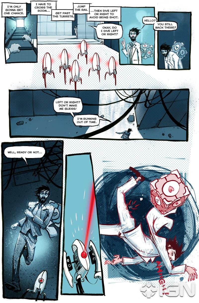 GLaDOS Origin Story Told In Full Portal 2 Comic The Escapist