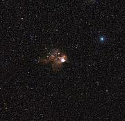 Digitized Sky Survey image around NGC 2467