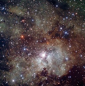 Maternidad Estelar NGC 3603