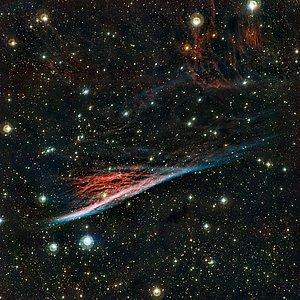 La Nebulosa del Lápiz, los extraños restos de una vasta explosión