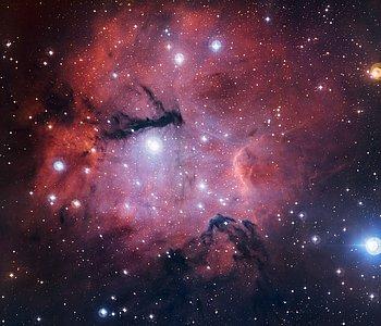 La región de formación estelar Gum 15