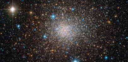 Hubble teleskobu gözyüle Terzan 5 kümesi. (Telif: ESO/F. Ferraro)