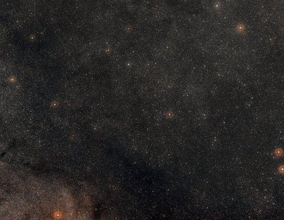Digitized Sky Survey image around Apep