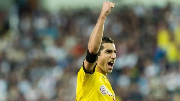 Mkhitaryan vive boa fase em 2015-16 no Borussia Dortmund