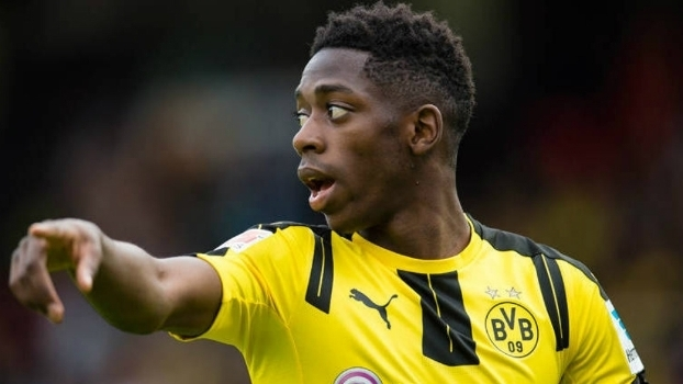 Ousmane Dembélé foi contratado pelo Borussia Dortmund nesta temporada