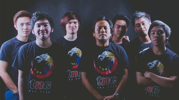 A equipe filipina TNC Gaming garantiu a vaga no TI6 chegando das qualificatórias abertas