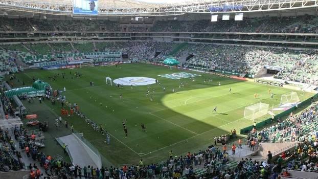 Allianz Parque Palmeiras x Santos Brasileiro 2015
