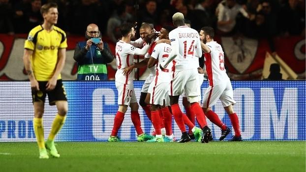Monaco venceu o Dortmund novamente e avançou à semifinal da Champions