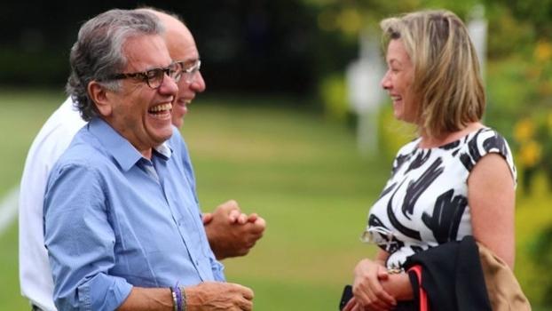 Ataíde, Aidar e Cinira: trio é pivô de polêmica no São Paulo Futebol Clube