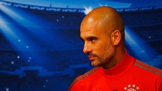 Pep Guardiola, em entrevista coletiva antes de Barcelona x Bayern de Munique na Champions
