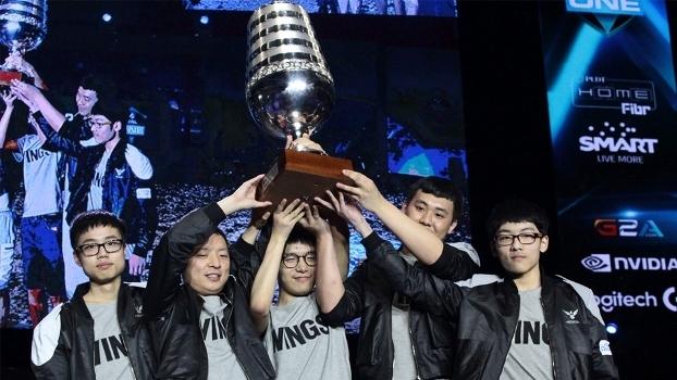 A chinesa Wings Gaming venceu recentemente o ESL One Manila