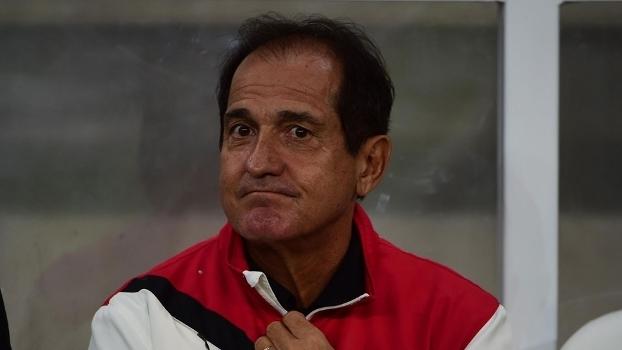 O técnico Muricy Ramalho durante a passagem pelo São Paulo neste ano