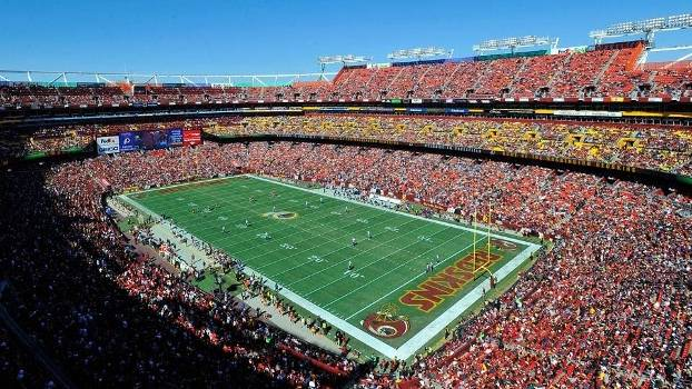 FedEx Field, casa dos Redskins