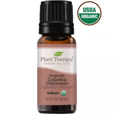 plant therapy copaiba essential oil 10 ml bottle