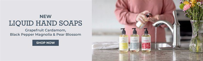 natural liquid hand soaps with essential oils