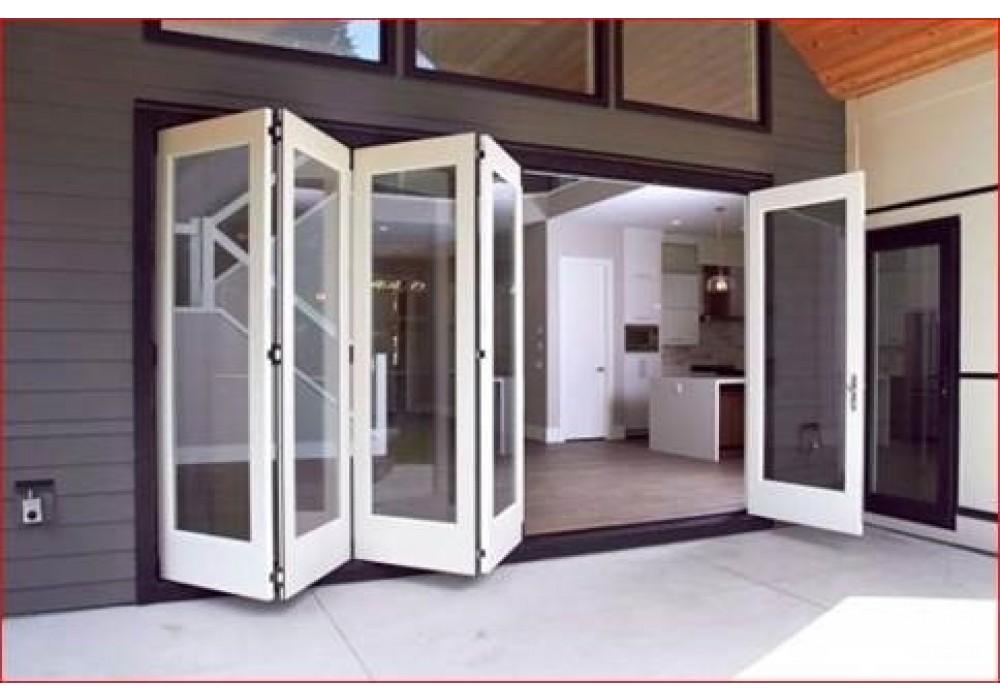 extbif folding and sliding exterior bifold door systems
