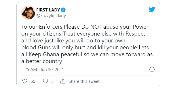'Do not abuse your power on your citizens' – Eazzy tells Ghana police, military 2