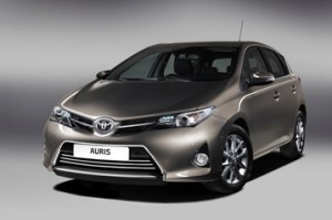 Official Toyota Auris 2013 safety rating results