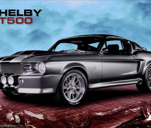 Ford Shelby Gt 500 Sky Poster