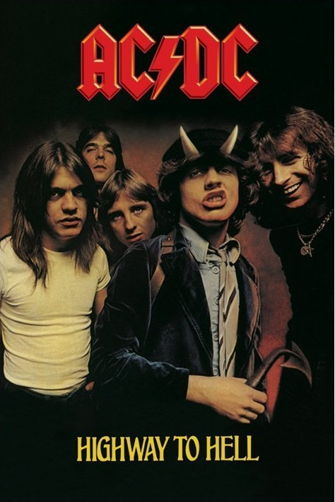 ACDC Highway To Hell Poster Sold At