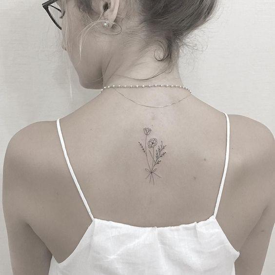 60 inspiraçōes para tatuagens femininas nas costas - Eu Total