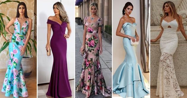 Resultado de imagem para Madrinhas no inverno: qual modelo de vestido é o ideal