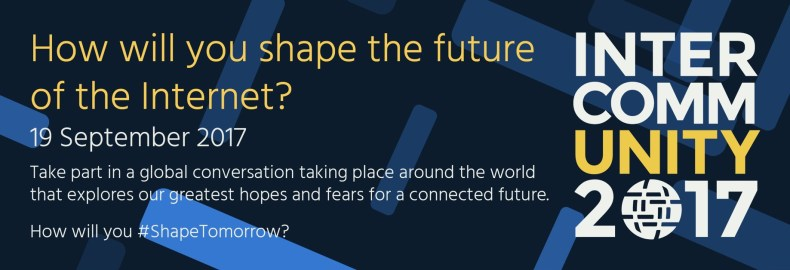 How will you shape the future of the Internet?